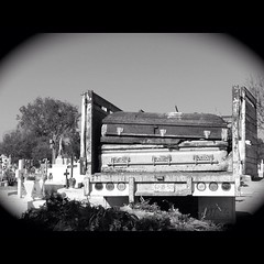 Old #coffins removed from #graves to... (at016mx@ymail.com) Tags: truck dead mexico death nikon rust sad graves guanajuato coffins doloreshidalgo uploaded:by=flickstagram instagram:photo=1408222549660456055188613