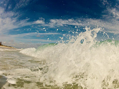 Wave III (talentfrei79) Tags: ocean blue sea españa mer beach water spain meer mediterraneo mare outdoor wave playa formentera spiaggia mediterráneo platja baleares balearen balears 2015 mittelmeer gopro hero2 pityusen
