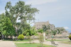 Kerkyra. Old Fortres (vs1k. 1 500 000 visits, Thanks so much !) Tags: greece corfu kerkyra fortres spianada