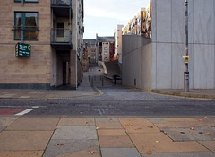space to stretch (Berny Mc) Tags: edinburgh exercise streetphotography