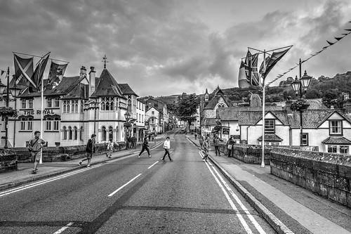 Llangollen, Denbighshire, North Wales.