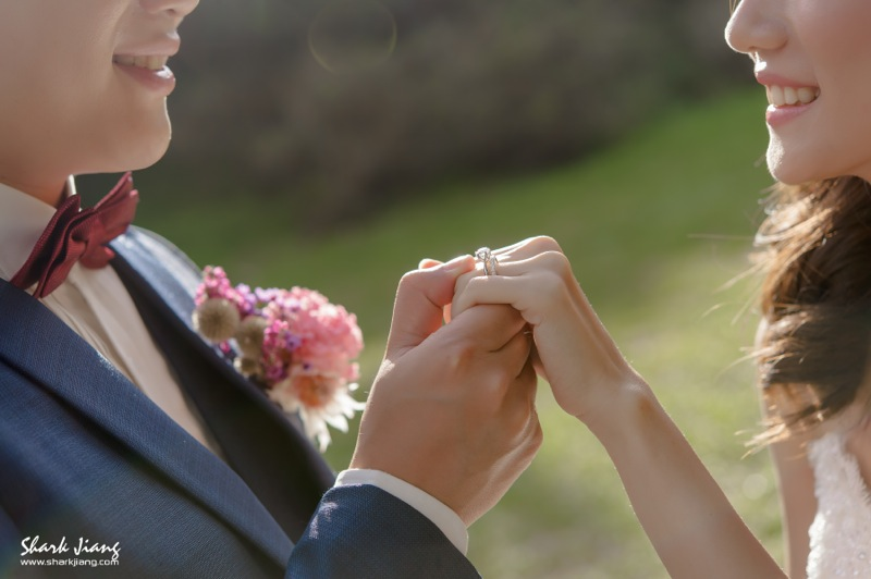 自助婚紗,海邊婚紗,逆光婚紗,婚攝鯊魚,陽明山婚紗