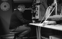 Scanning 14Reels (Lszl K.) Tags: bw analog 50mm nikon kodak xx ke nikkor eastman nikonf3 ais gorizia doublex produzioni d96 sixgatesfilms sixgatesfilm barnabil barnabilproduzioni 14reels ke5222
