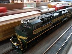 066 (Trains By Perry) Tags: ho norfolksouthern hoscale roadrailer hotrak november2015setup