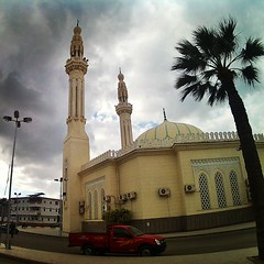 Ras Elbar....  (Yasser Metwally) Tags: clouds mosque  damietta raselbar     yassermetwallycom egmyassermetwallycom