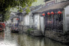 TRANQUILITY (femiano.ciro) Tags: china trip travel vacation 3 water photoshop town spring day silent shanghai cloudy tranquility calm april mission hdr 8th province jiangsu zhouzhuang 2007 impossible photomatix