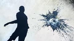 Le Déjeuner sur l'herbe (Robert Saucier) Tags: streetart paris stencil sticker 13e xiiie ledéjeunersurlherbe img9224 édouardmanet