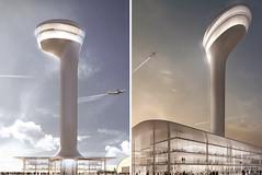 Прект диспетчерской башни аэропорта Стамбула от Fuksas