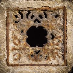 Crusty (Brnzei) Tags: brown square lomo decay rusty squareformat junkyard artifacts bucureti sonynex7 sonysel185534561855oss
