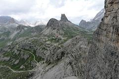 Schronisko Locatelli z podejścia na Paternkofel