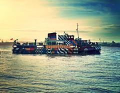 Dazzleship Mersey Ferry - Snowdrop (bobbex) Tags: mersey merseyside rivermersey