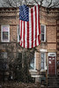 Star-Spangled Banner (tim.perdue) Tags: star spangled banner flag american hanging apartment building old north columbus ohio stars stripes glory usa high street