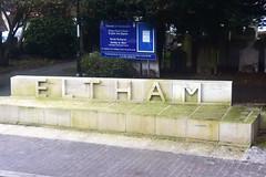 Eltham (John A King) Tags: eltham stone sign
