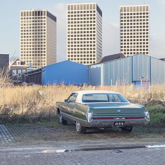 Rotterdam (keilestraat) (Danny Holleman) Tags: rotterdam keilestraat fujifilm ohio chrysler green tower fuji square
