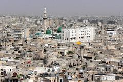 HALAB (Aleppo-Alepo). Syria. 2008.  Panorámica de la ciudad desde la Ciudadela. (Carlos Sieiro del Nido) Tags: halab aleppo alepo syria siria ciudadela panorámica