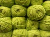358/366: Skeins (Den's Lens 2000) Tags: skein wool green 2016onephotoeachday project3662016 366the2016edition