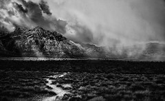restless (johnsinclair8888) Tags: lasvegas nikon redrock snow johndavis affinityphoto silverefex art mountain nature landscape d750