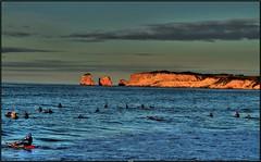 Surf Session (Steff Photographie) Tags: surf cote basque saint jean de luz océan couleurs colors flickr blue bleu coucher soleil nature mer vacances sesssion glisse