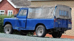 WGJ 192G (Nivek.Old.Gold) Tags: 1968 land rover 109 series 2a softtop 2250cc diesel