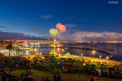 Fireworks welcoming 2017 (shivan) Tags: geelongwaterfront fireworks geelongfireworks geelong geelongfireworksfor2017 d7100 nikond7100 tokina1116mm nightfireworks geelongeasternbeach