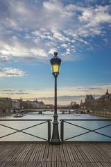 La Seine (Adrien Hay) Tags: france paris pont des art seine paysage monument tuileries louvre arrondissement lampadaire public