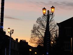 Evening in New Brighton Wirral (bikerchick2009) Tags: newbrighton st james church evening sihouette sunset street road