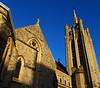 SUTTON, Surrey, Greater London - Trinity church (3) (tonymonblat) Tags: london londonboroughofsutton sutton surrey uk britain england sunny bluesky church trinitychurch methodist methodism suttonsurrey architecture building stone religion christian