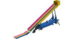 Super Slide (Micro Scale) on LDD! (RS 1990) Tags: lego digitaldesigner ldd moc wip superslide microscale miniscale