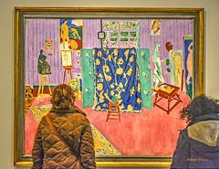 a sheltered Matisse (albyn.davis) Tags: matisse art museum people colors colorful vivid bright vibrant paris france vuitton impressionist