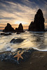 Rodeo Beach W Patrick (Erick Castellón) Tags: sunset seascape nature natureaddict clouds seaside waves rocks landscapephotography landscape californiacoast california rodeobeach rodeobeachsunset sausalito marin northerncalifornia marinheadlands marinlandscape sky the three amigos thethreeamigos