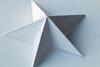Paper star (HBroom) Tags: macromondays justwhitepaper star origami paper white light shadow macro