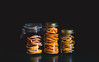jarred (auntneecey) Tags: citrus dried jarred slices bottles countertop matte orange lemon grapefruit 365the2017edition 3652017 day18365 18jan17