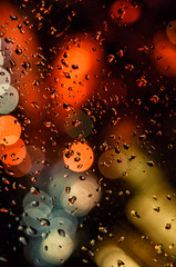 Downtown Rain (flashfix) Tags: january122017 2017 2017inphotos nikond7000 nikon ottawa ontario canada 40mm rain bokeh droplets downtown colour streetlights water raindrops glass refections colourful macro jackalopeforgotanumbrella jackalopeatetheumbrellawithmurder