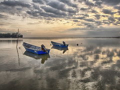 IMG_7190 ~ ...and justice for all (alongbc) Tags: sunrise morning jubakar jubakarpantai travel places trip tumpat kelantan visitkelantan tourismkelantan malaysia fishingboats fishingvillage clouds sea sky canon eos700d canoneos700d canonlens 10mm18mm wideangle