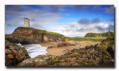 Llanddwyn Island, Anglesey (jeremy willcocks) Tags: llanddwyn island anglesey wales north uk lighthouse nikon d300 colour landscape sky jeremywillcocks wwwsouthwestscenesmeuk