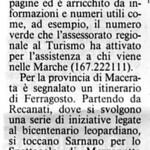 Rassegna stampa TAM 1998