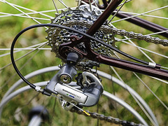 Shimano Ultegra RD-6401 8 Speed mech & HG-51 Cassette (hz536n/George Thomas) Tags: canon5d 2017 austrodaimler brooks ef24105mmf4lisusm nitto oklahoma puch shimano spring ultegra bicycle bike copyright cs6 march stillwater bokeh