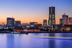 20170126_f17 (G-TAKI) Tags: japan yokohama 日本 横浜 city skyline building sunset twilight landscape longexposure みなとみらい minatomirai