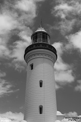 Norah Head Lighthouse (Anura in Canberra) Tags: nsw norahhead bw lighthouse sea