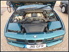BMW 850 5Lte V12 Power Unit (Alan B Thompson) Tags: car lumix suffolk picasa 2015 shotley fz72 eastcoastretros