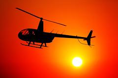 Sunset at Myrtle Beach, South Carolina, Summer 2015 (hondagl1800) Tags: sunset red usa sun hot yellow myrtlebeach tour outdoor southcarolina helicopter myrtlebeachsouthcarolina instagramapp