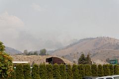 Fire Behind Us (benagain_photos) Tags: washington butte wa fires chelan wildfires reachfire chelancomplex