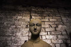 Portraits of Goddess in making (Karthi KN Raveendiran) Tags: statue worship colours clay colourful kolkata potters durga kaali dussera karthikn durgapooja kumartuli karthiknraveendiran kumourtoli