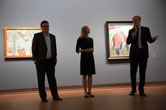 photoset: Albertina: Lyonel Feininger & Alfred Kubin. Eine Künstlerfreundschaft (3.9.2015, Presseführung)