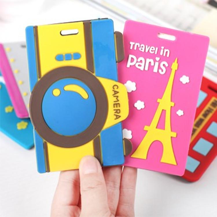 Z352-South-Korean-cartoon-luggage-luggage-tag-Bag-tags-check-card-mark-card