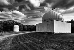 Pulpit Observtory (B. Gohacki) Tags: blackandwhite bw monochrome pentax pennsylvania hamburg wideangle observatory f28 k3 pulpitrock 14mm silverefexpro smcpentaxda