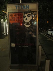 Crimson Ghost / The Misfits Mascot - Phone Booth Collage Art 1829 (Brechtbug) Tags: the crimson ghost misfits mascot phone booth fashion ad poster art hey vampira i want be your danzig flood 1946 republic film serial directed by fred c brannon william witney horror punk band skull logo terror halloween fright creature shadow ghoul skulls skeleton skeletons shadows creepy theater theatre sideshow 2015 spooky figure