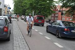 Sykkelfelt Kjpmannsgt. 0018 (Miljpakken) Tags: trondheim rdt sykling bymilj gatemilj miljpakken syklister bygate bytransport bytrafikk miljopakken sykkelveg sykkelanlegg bysykling