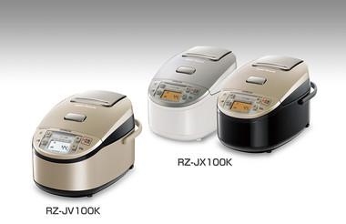 日立IHジャー炊飯器 「蒸気リサイクル」 JV100KN, JV180KN, JX100JNK, JX100JSW, JX180JNK, JX180JSWの写真