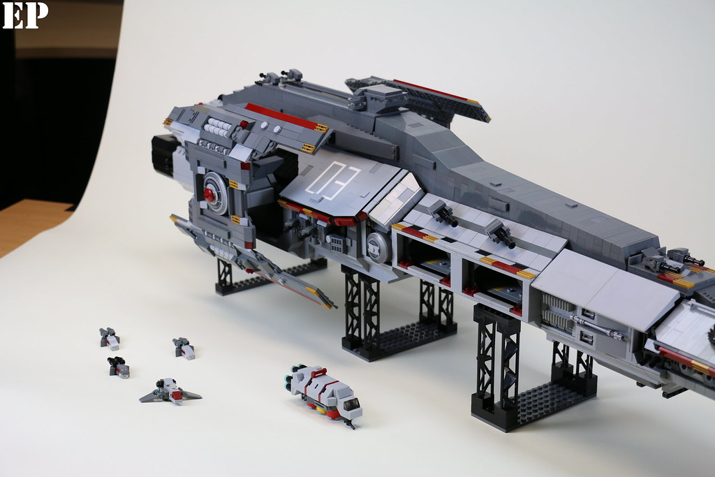 how to build a space ship with probuilder